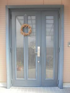 愛知県の積水ハウス玄関ドアの交換