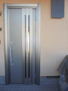 川崎市玄関リフォーム事例の写真