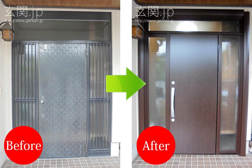 玄関リフォームの施工事例201507−04