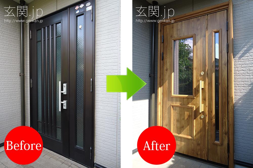 玄関リフォーム施工事例20150909−1