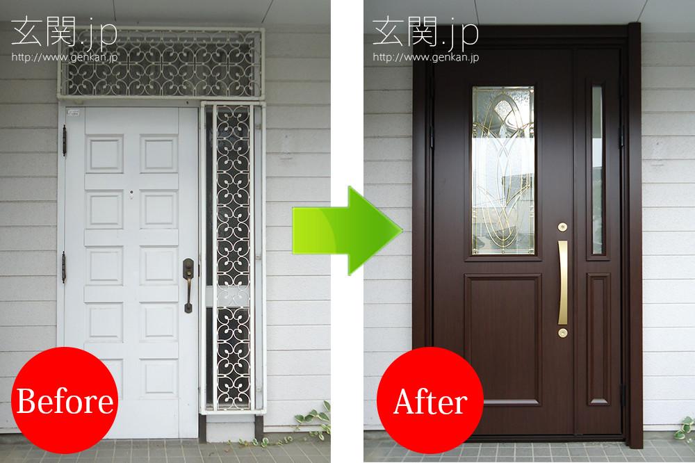玄関リフォームの施工事例201507−131