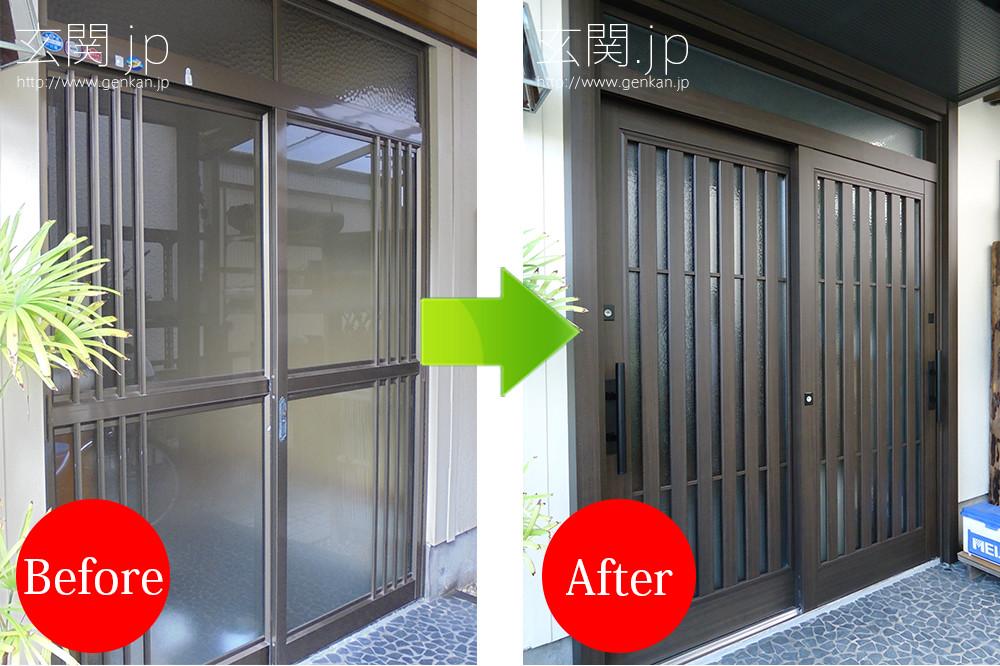 玄関リフォームの施工事例201507−07