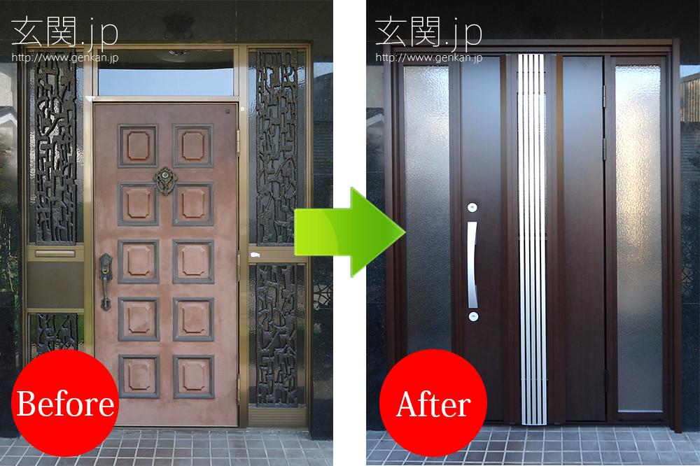 玄関リフォームの施工事例201507−121