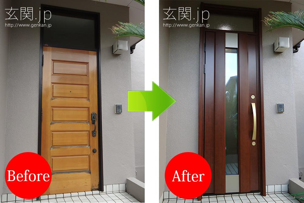 玄関リフォームの施工事例201507−10