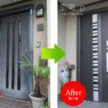 千葉県U様邸リシェント3【G82】トリノパイン片開きドア